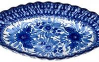 Ceramika-Artystyczna-Polish-Hand-Painted-16-25-Oval-Fluted-Serving-Tray-38.jpg