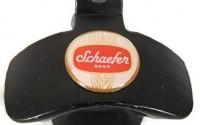 SCHAEFER-BEER-LOGO-ON-BLACK-FINISH-METAL-WALL-MOUNTED-BOTTLE-CAP-OPENER-2.jpg