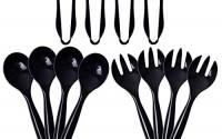 72pcs-Plastic-Serving-Utensils-Heavy-Duty-Disposable-Serving-Tongs-Black-Disposable-Serving-Set-10-Spoons-10-Forks-6-Tongs-Each-24pcs-Supernal-11.jpg